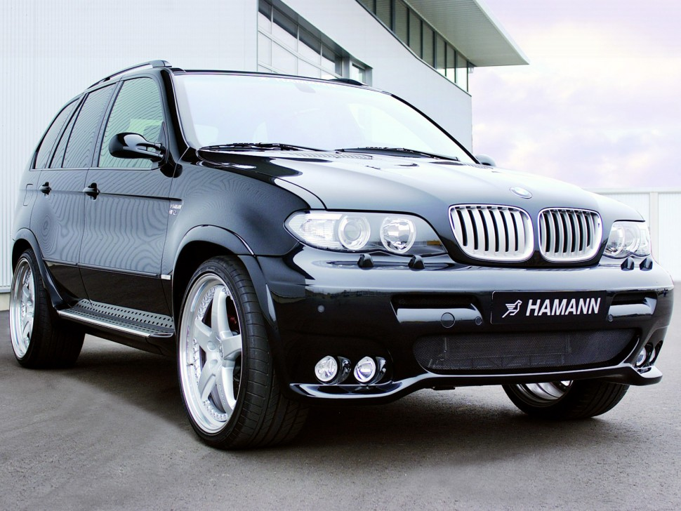 New bmw x5 with wide body modifications from hamann